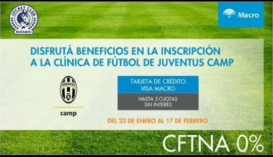 Futbol De Menores Juventus Camp Y Banco Macro Jockey