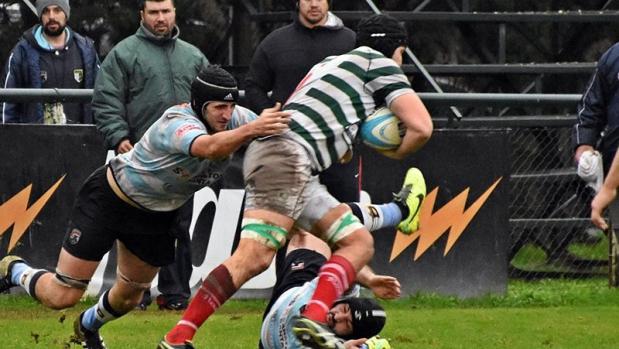 Rugby - Jockey comenzó con el pie derecho - Jockey Club de Rosario